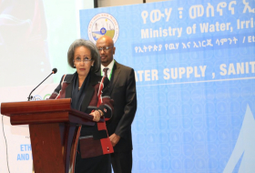 President opens Ethiopia Water and Energy Week