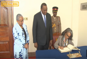 Welcoming H.E. President Sahle-Work Zewde to the State House